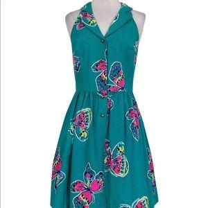 Lilly Pulitzer I've Got Butterflies Sherlynn Dress